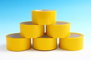 Bezpečnostní páska žlutá