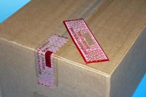 Bezpečnostní páska na krabici