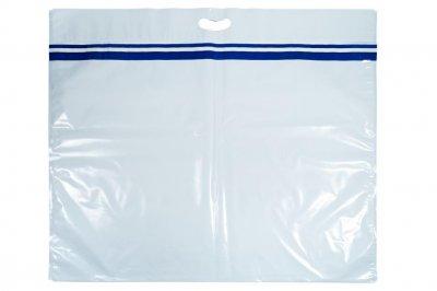 Plastová taška s bezpečnostní páskou (velká)