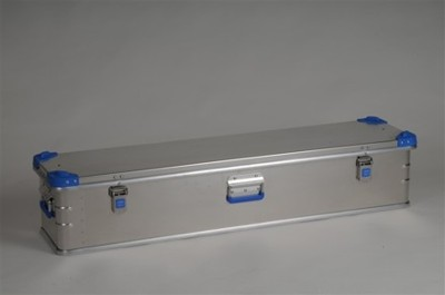 Hliníkový kontejner EUROBOX, 1200x300x250 mm, objem 63 l