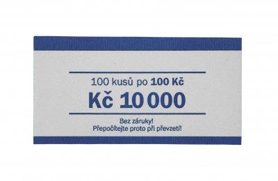 Páska na bankovky nominál 100 Kč