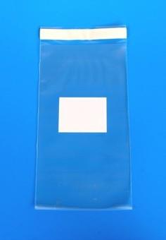 PE sáček s lepící páskou (průhledný)