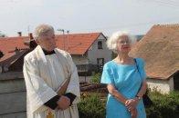 Vzácná návštěva - probošt Hronek a hraběnka Polyxena Czerninová