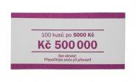 Papírová páska na CZK bankovky 5000 Kč