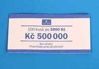 Bankovní páska - nominál 5000,-Kč