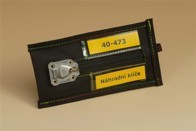Pouzdro na klíče, 80x170 mm, kortexin 600
