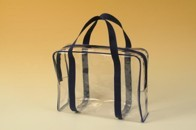 Průhledná přepravní taška