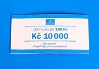 Bankovní páska - nominál 100,-Kč