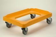 Manipulační podvozek - gumová kolečka, nosnost 250 kg