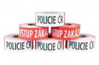 Ohraničovací páska s potiskem Policie ČR